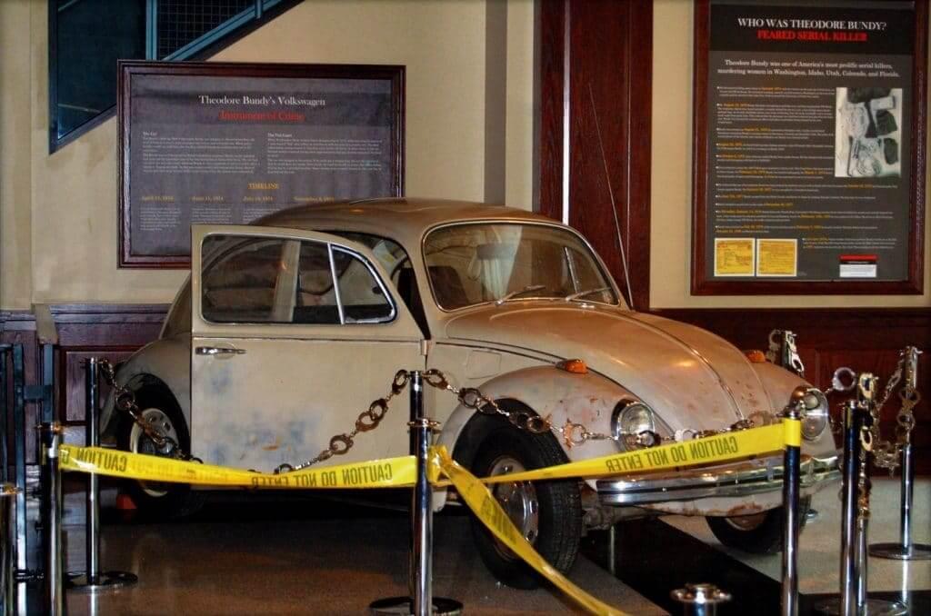 Garbus Bundy'ego obecnie znajduje się w Narodowym Muzeum Zbrodni i Kary niedaleko Waszyngtonu