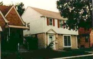 Dom babci Jeffrey'a, w którym mieszkał 6 lat i zabił 3 osoby.