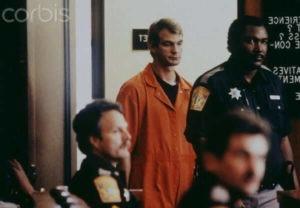 Jeffrey Dahmer podczas procesu