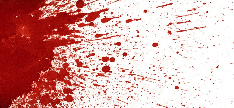 Ślady krwi